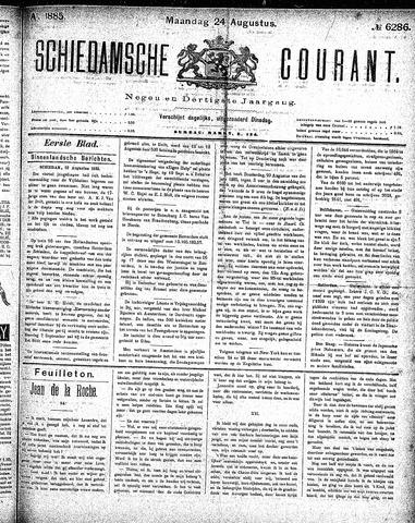 Schiedamsche Courant 1885-08-24