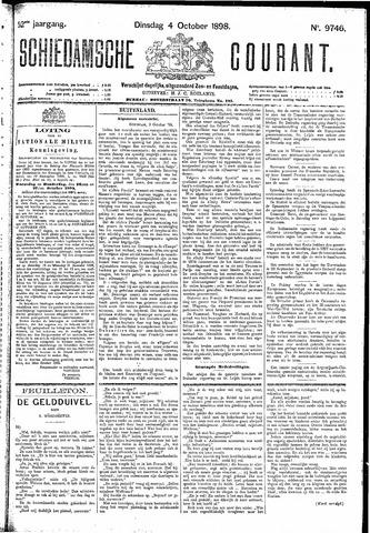 Schiedamsche Courant 1898-10-04