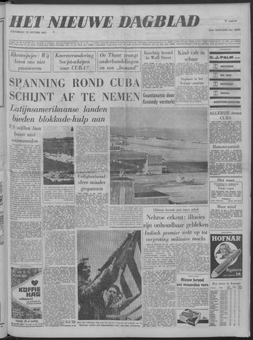Nieuwe Schiedamsche Courant 1962-10-25