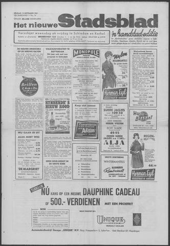 Het Nieuwe Stadsblad 1961-09-15
