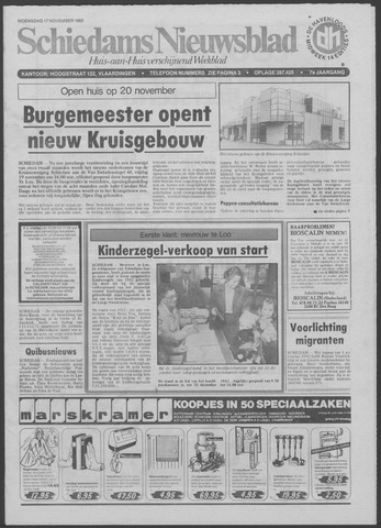 Schiedams Nieuwsblad 1982-11-17
