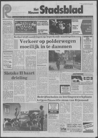 Het Nieuwe Stadsblad 1984-08-10
