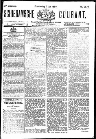 Schiedamsche Courant 1898-07-07
