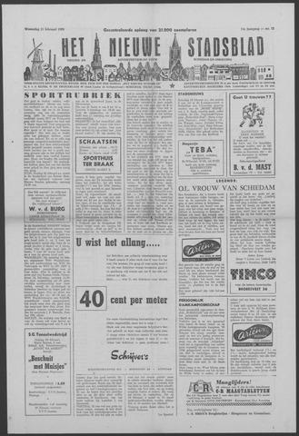 Het Nieuwe Stadsblad 1959-02-11