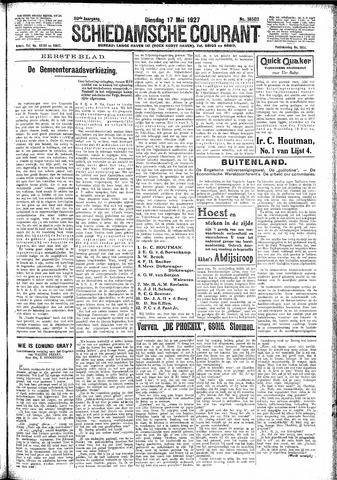 Schiedamsche Courant 1927-05-17