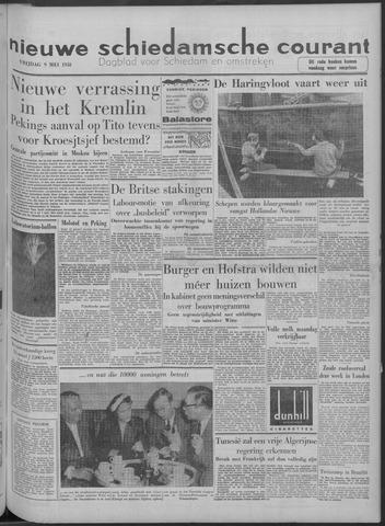 Nieuwe Schiedamsche Courant 1958-05-09
