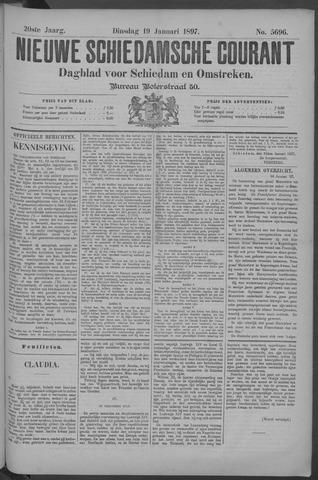 Nieuwe Schiedamsche Courant 1897-01-19