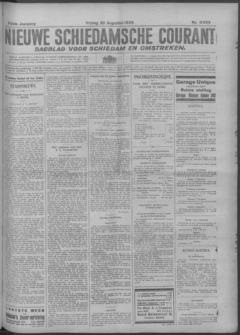 Nieuwe Schiedamsche Courant 1929-08-30