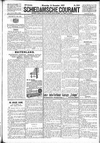 Schiedamsche Courant 1927-12-14