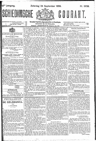 Schiedamsche Courant 1898-09-24