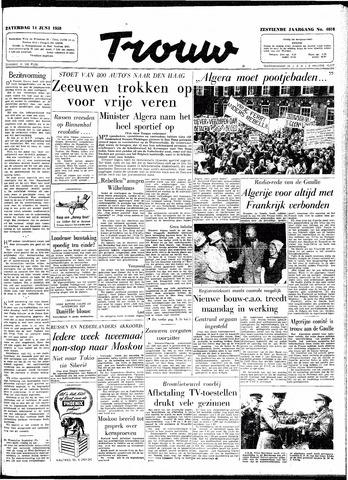 Trouw / De Rotterdammer 1958-06-14