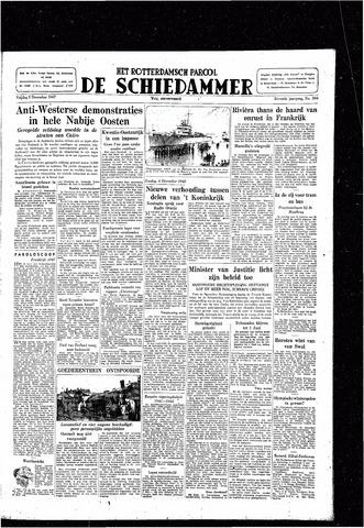 Rotterdamsch Parool / De Schiedammer 1947-12-05