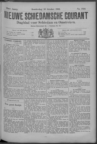 Nieuwe Schiedamsche Courant 1901-10-10