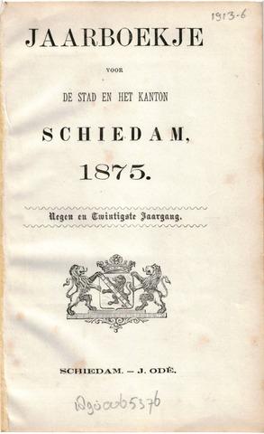 Schiedams Jaarboek 1875-01-01