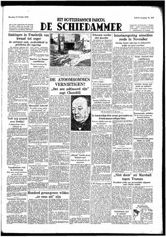 Rotterdamsch Parool / De Schiedammer 1948-10-11