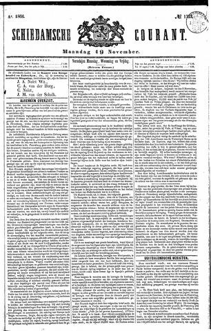 Schiedamsche Courant 1866-11-19