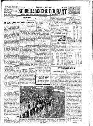 Schiedamsche Courant 1935-04-27