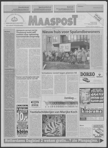 Maaspost / Maasstad / Maasstad Pers 1996-05-29