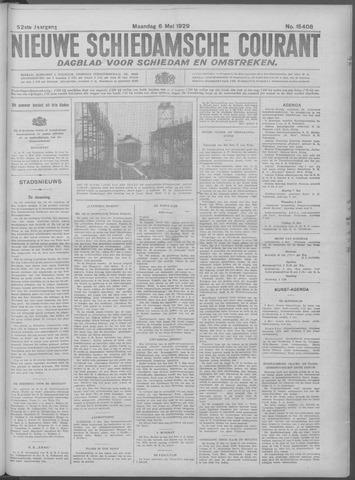 Nieuwe Schiedamsche Courant 1929-05-06