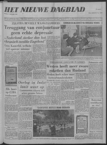 Nieuwe Schiedamsche Courant 1962-11-09