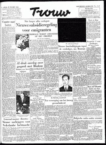Trouw / De Rotterdammer 1955-03-29