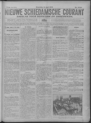 Nieuwe Schiedamsche Courant 1929-04-24