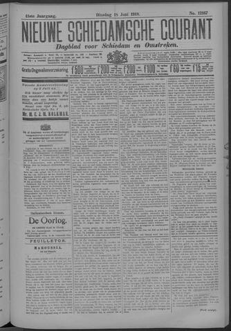 Nieuwe Schiedamsche Courant 1918-06-18