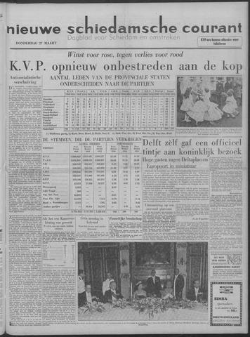 Nieuwe Schiedamsche Courant 1958-03-27