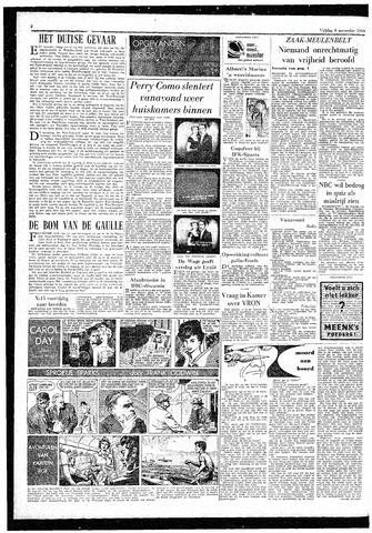 Rotterdamsch Parool / De Schiedammer 1959-11-06