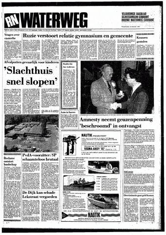 Rotterdamsch Nieuwsblad / Schiedamsche Courant / Rotterdams Dagblad / Waterweg / Algemeen Dagblad 1987-03-18