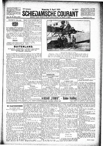 Schiedamsche Courant 1929-04-03