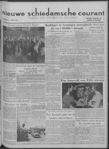 Nieuwe Schiedamsche Courant 1958-05-05
