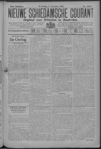Nieuwe Schiedamsche Courant 1918-11-06