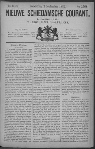 Nieuwe Schiedamsche Courant 1886-09-02