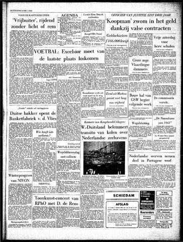 Rotterdamsch Parool / De Schiedammer 1962-10-04