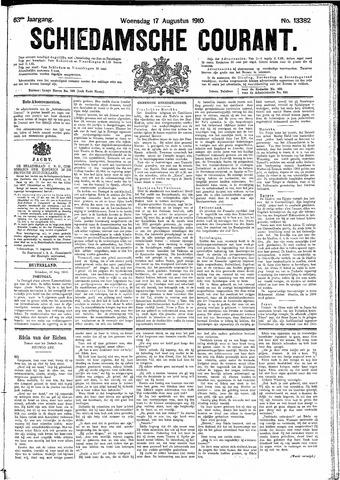 Schiedamsche Courant 1910-08-17