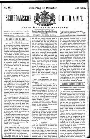 Schiedamsche Courant 1877-12-13