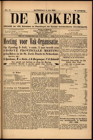 De Moker 1908-07-04