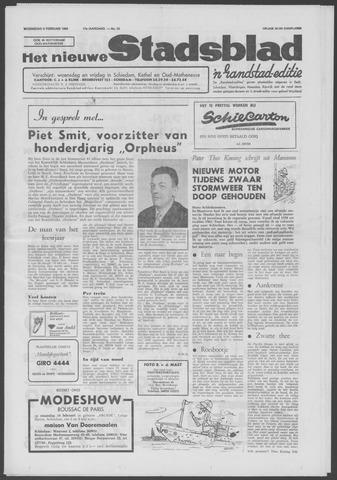 Het Nieuwe Stadsblad 1966-02-09