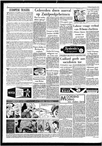 Rotterdamsch Parool / De Schiedammer 1957-12-06