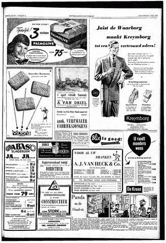 Rotterdamsch Nieuwsblad / Schiedamsche Courant / Rotterdams Dagblad / Waterweg / Algemeen Dagblad 1953-05-07