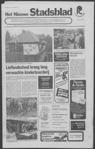 Het Nieuwe Stadsblad 1977-09-21