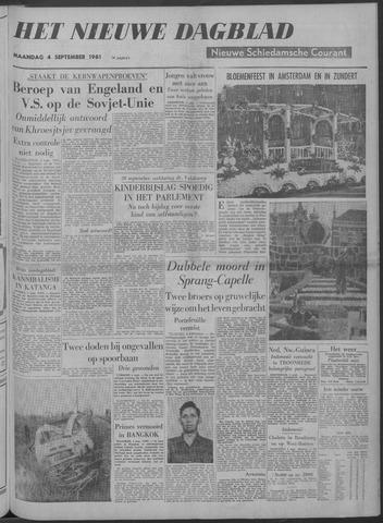 Nieuwe Schiedamsche Courant 1961-09-04