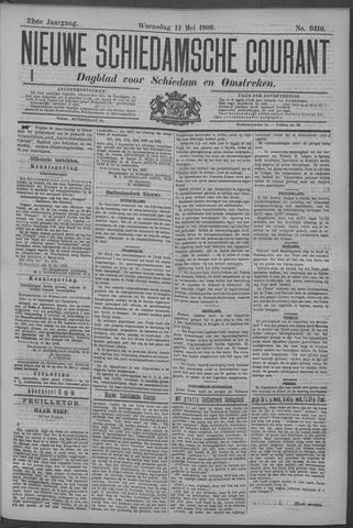 Nieuwe Schiedamsche Courant 1909-05-12