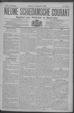 Nieuwe Schiedamsche Courant 1909-08-03