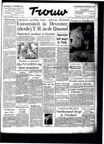 Trouw / De Rotterdammer 1959-11-11