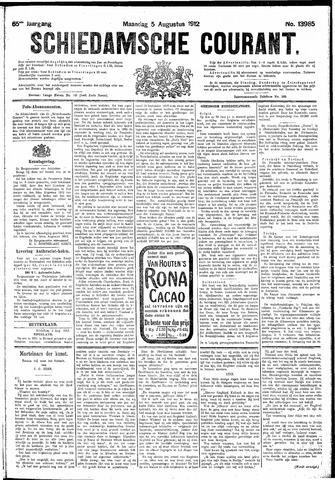 Schiedamsche Courant 1912-08-05