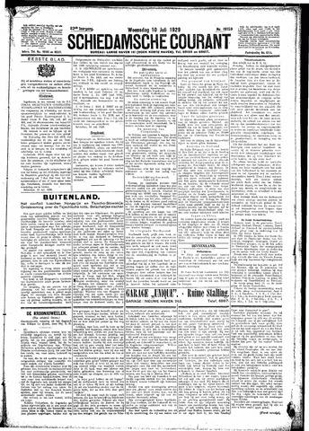 Schiedamsche Courant 1929-07-10