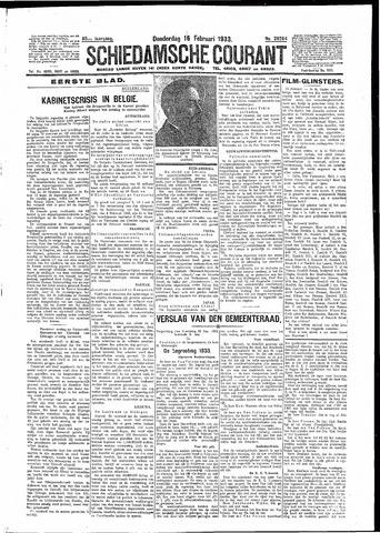 Schiedamsche Courant 1933-02-16