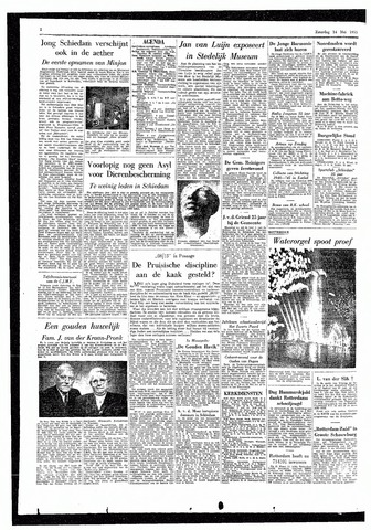 Rotterdamsch Parool / De Schiedammer 1955-05-14